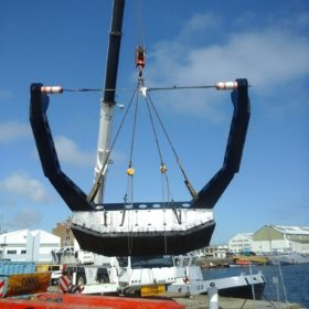 Lifeboats lifting CMO SHip repair 2